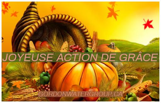 Action de Grâce Canada 2020